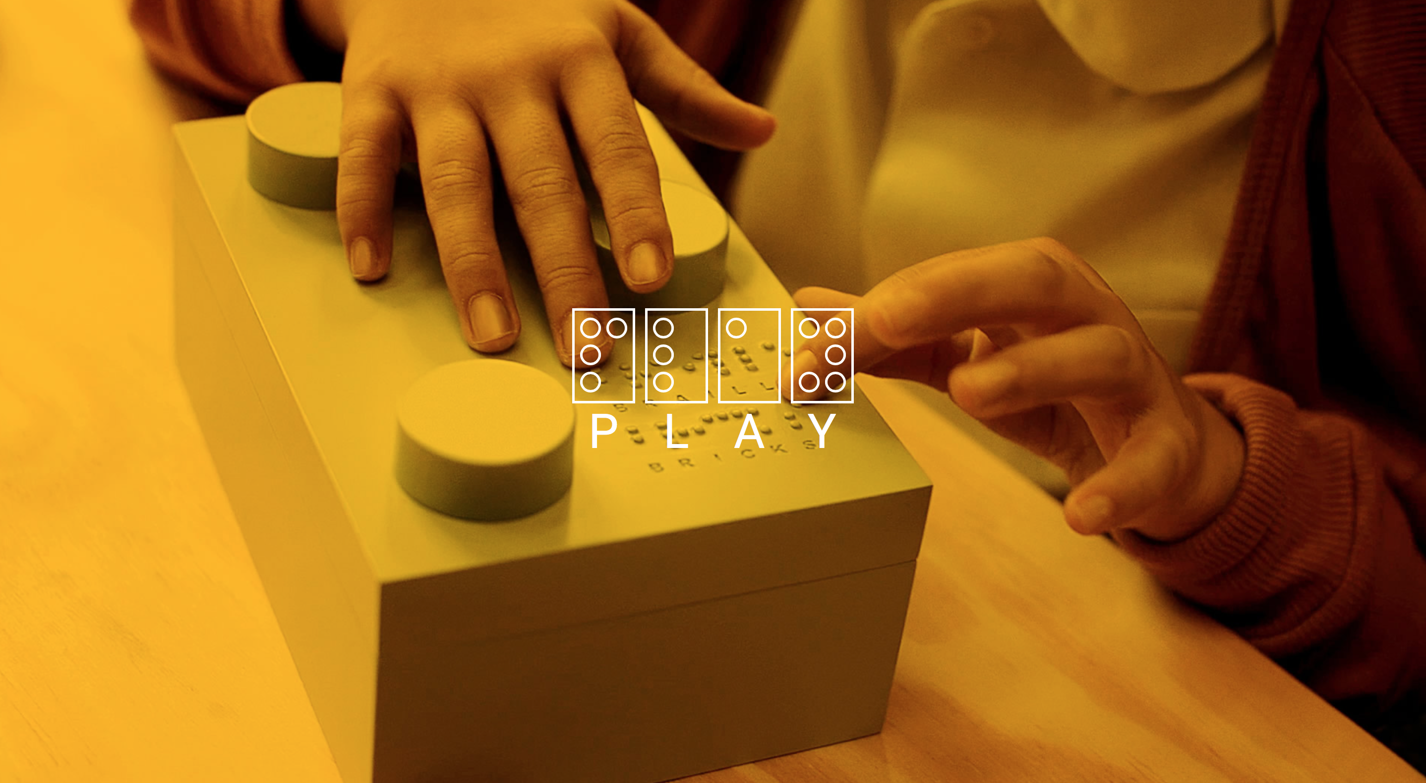 Braille Bricks – innovative way to help blind children learn to read while playing with toys
