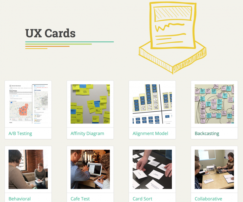 UX Cards : nForm User Experience Consulting