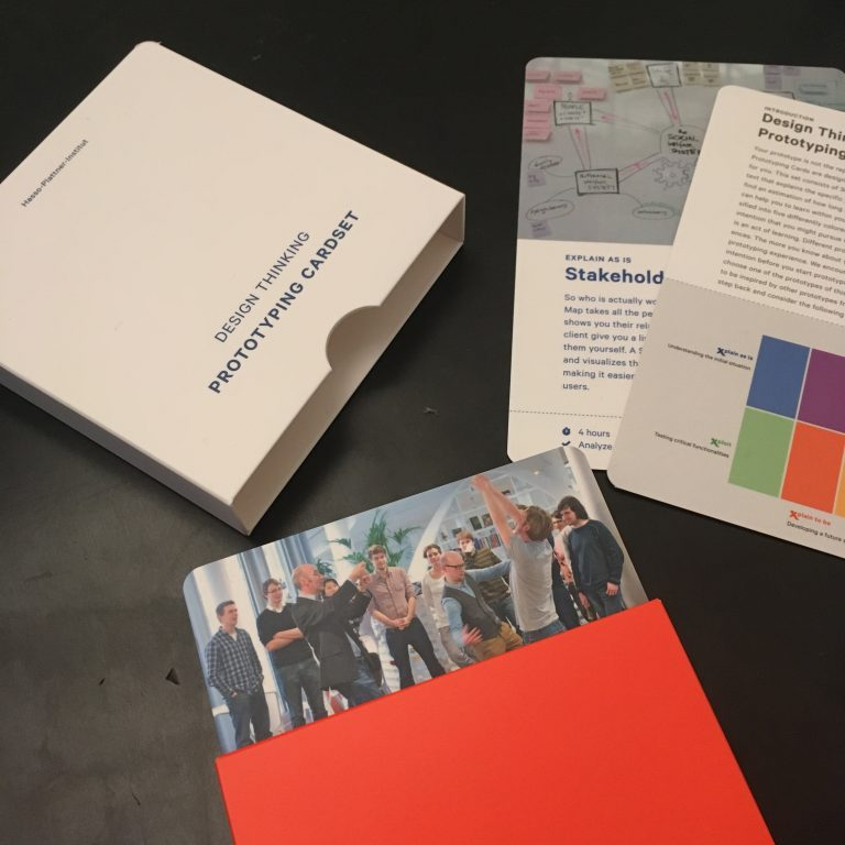 HPI : Design Thinking Prototyping Cardset