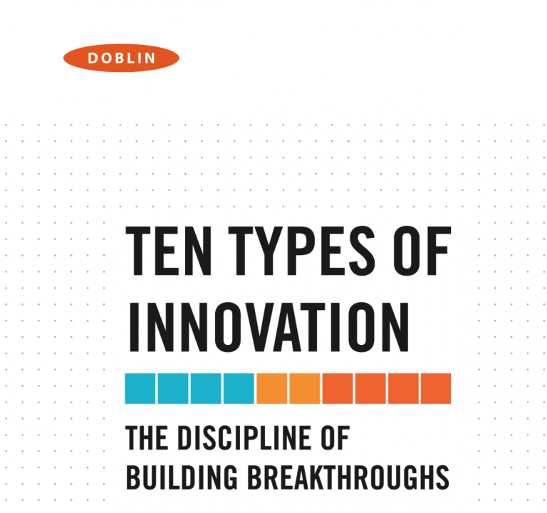 Ten Types of Innovation : Doblin